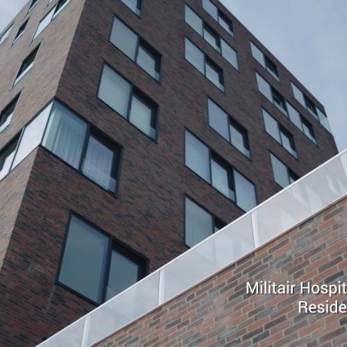 Renovatie voormalig militair hospitaal